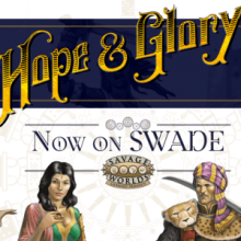 Hope&Glory is now available for the Adventure Edition!